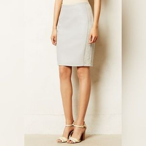 Anthropologie Bailey44 Faux Leather Pencil Skirt